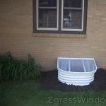 Stif Back II egress window installation completed