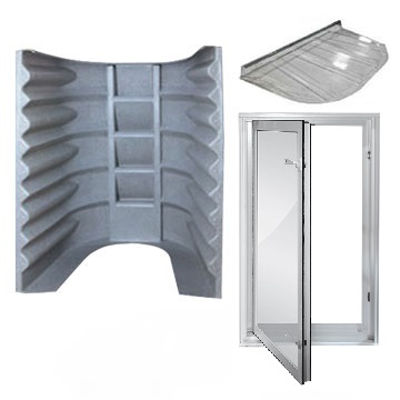 2062 Egress Kit - Granite Grey