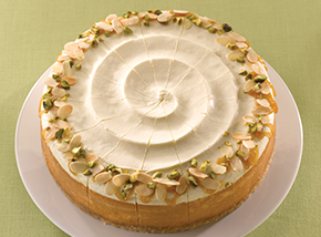 Honey Almond Cheesecake