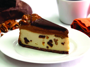 Turtle Trio Cheesecake