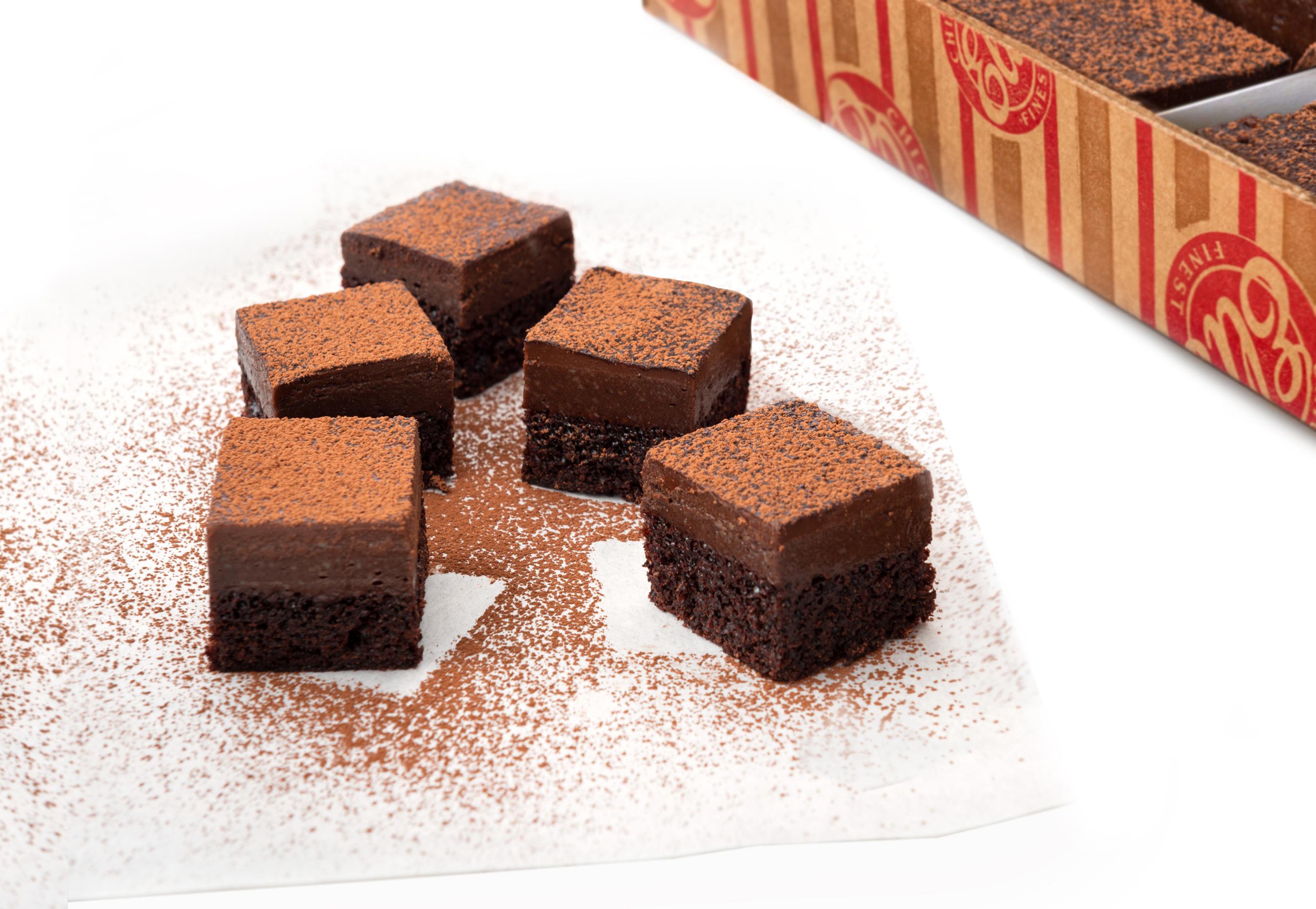 "Vegan Belgian Chocolate ""Cheesecake"" Cuties"