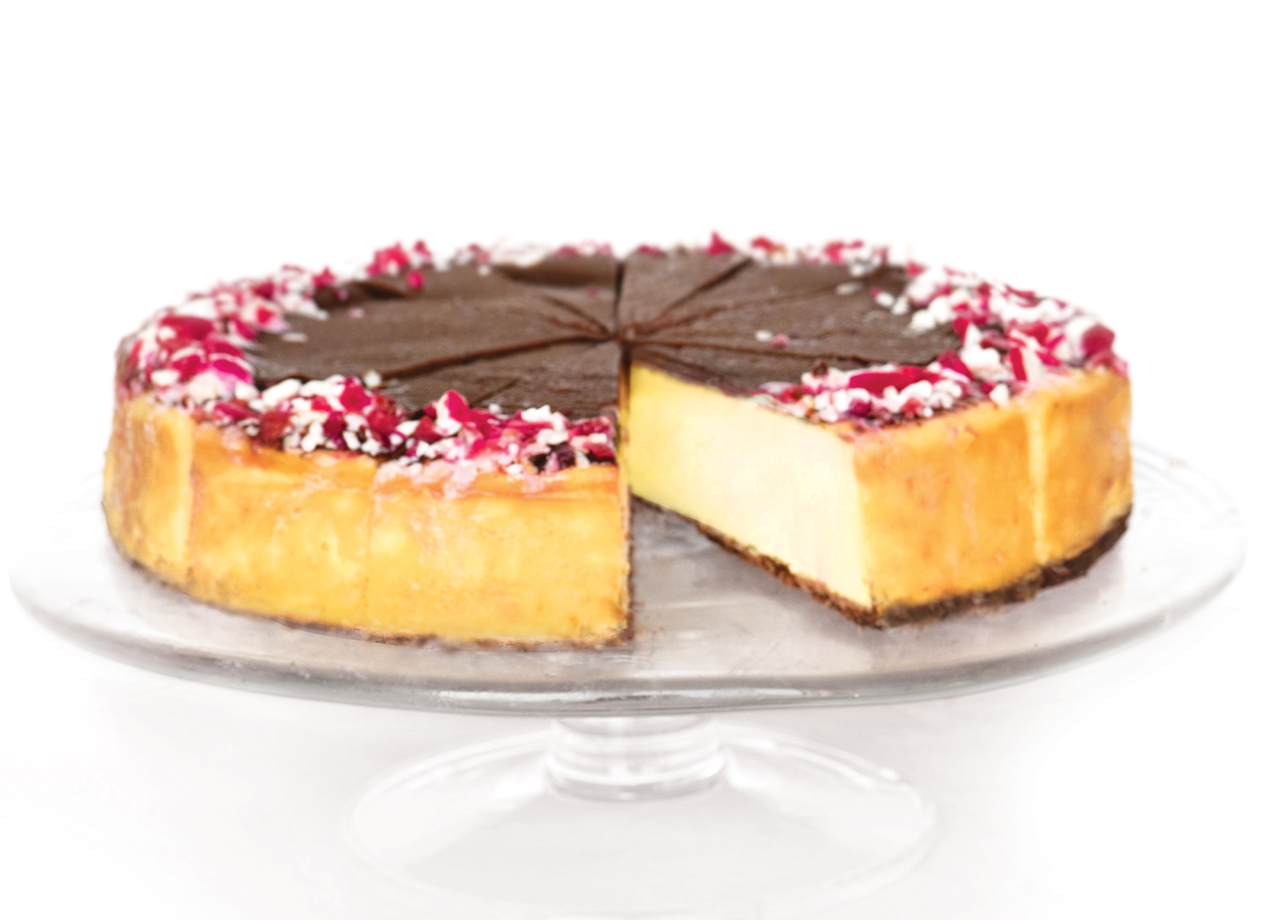Peppermint Bark Cheesecake