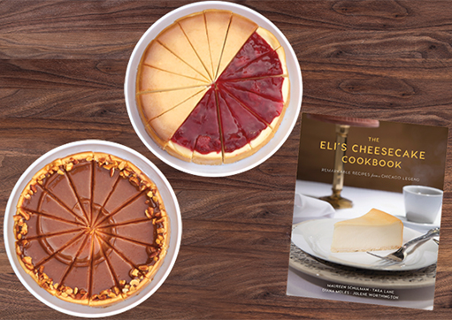 Eli's Cheesecake Cookbook and Cheesecake Tower