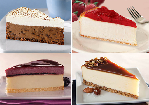 Seasonal Cheesecake Club