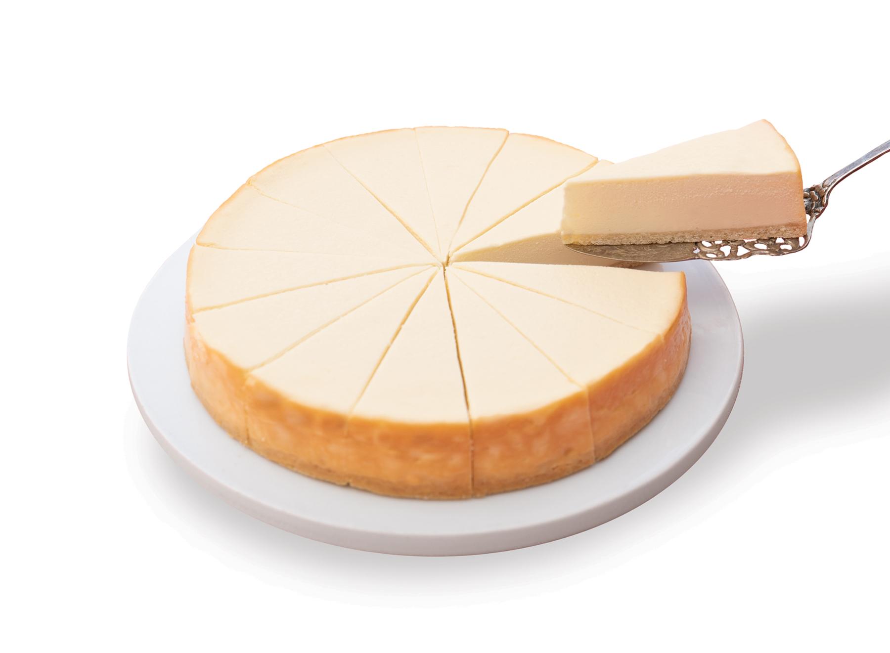 No Sugar Added Plain Cheesecake