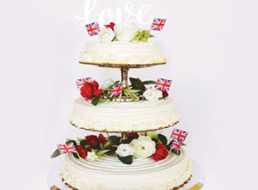 DIY Royal Wedding Cake Kit