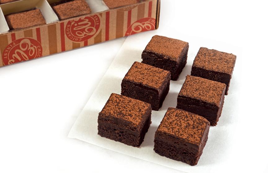 Mini Fudge Brownies