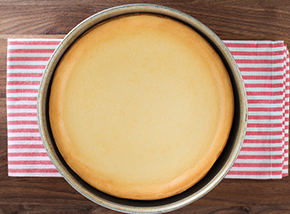 Original Plain Cheesecake - Uncut