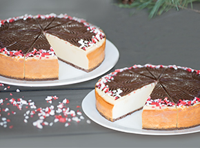 Peppermint Bark Cheesecake Double Pack
