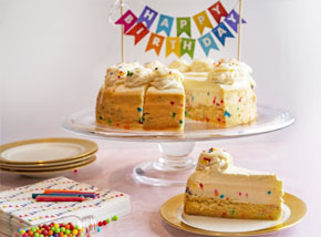 Birthday Celebrate-at-Home Party Kit - Confetti Cheesecake