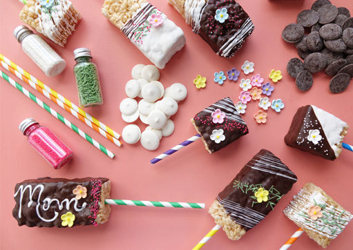 Mommy & Kiddo DIY Marshmallow Crispy Bar Decorating Kit