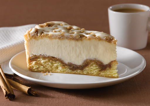 All Products - Cinnamon Roll Streusel Cheesecake