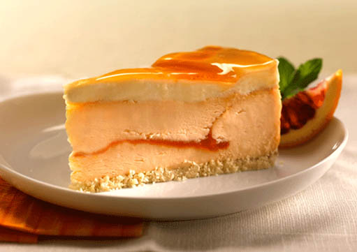 Home > All Products > Blood Orange Champagne Cheesecake