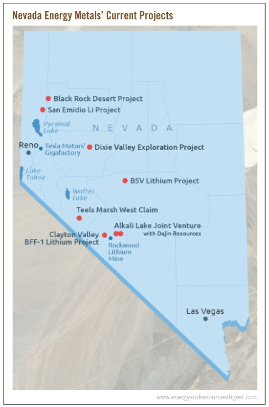 nevada-metal-current-projects