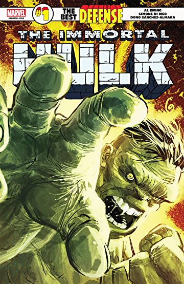 Immortal Hulk The Best Defense 1
