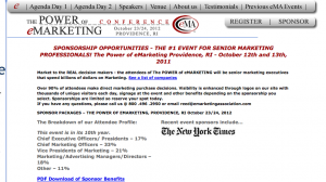 Power of eMarketing Conference