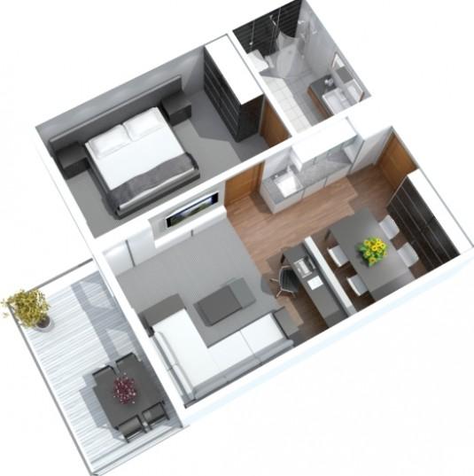 Hotel 3D image