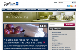 Spa Blog Radisson