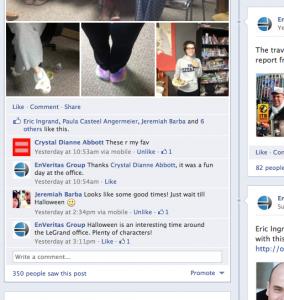 EnVeritas Group Engage Facebook Fans