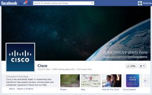 Cisco Facebook Page