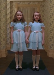 Girls from Steven King's the Shining