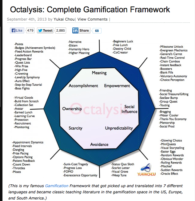 Octalysis: Complete Gamification Framework | Yu-kai Chou & Gamification