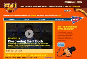 Reese's NCAA Hub