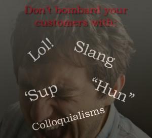 Slang Frustration