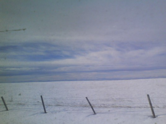 Winter landscape in ND