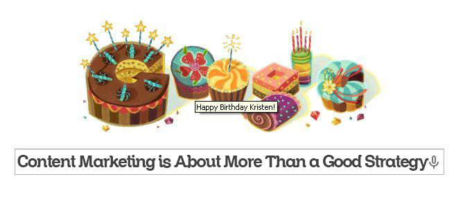 Birthday Google