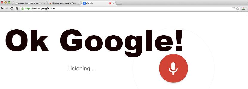 Ok Google in Chrome Beta: The Progression of Voice Search