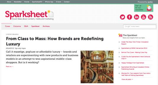 Sparksheet Brand Marketing
