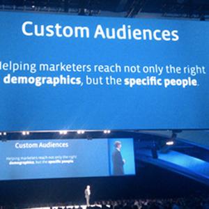 Facebook Custom Audiences Announcement
