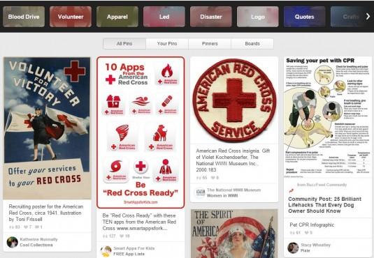 pinterest american red cross