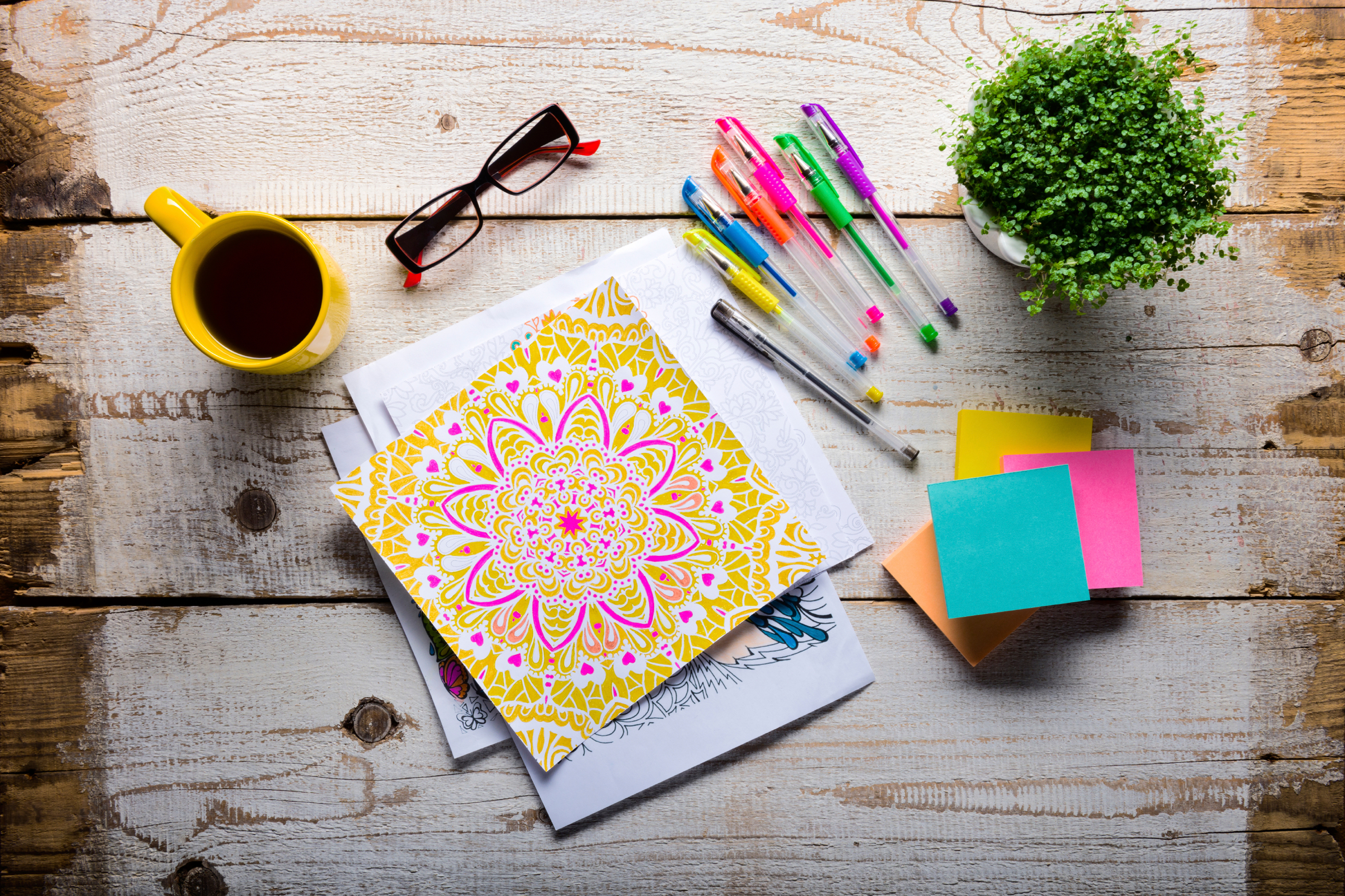 Adult Coloring Books Can Reduce Stress