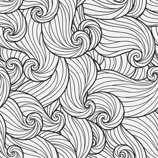 Adult Coloring Page Pattern