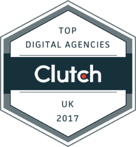Clutch top digital agencies UK 2017