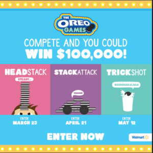 oreo games competition