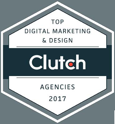 clutch top digital marketing and design agencies 2017 badge