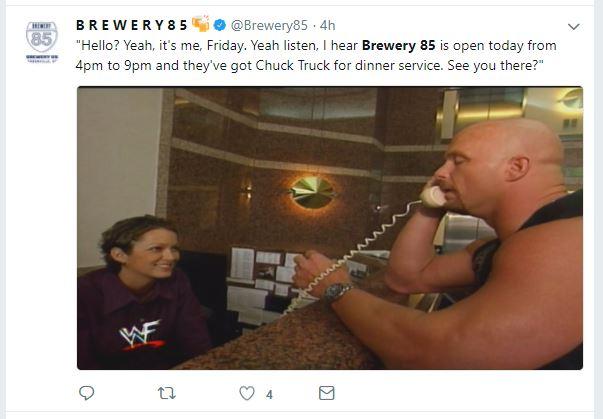 brewery 85 twitter