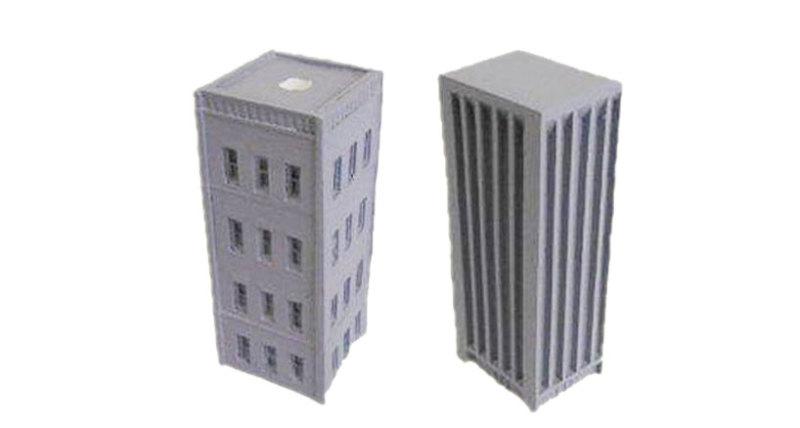 Buildings, City Buildings (9-7007 + 9-7008)