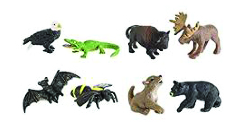 North American Animals (9-7030)