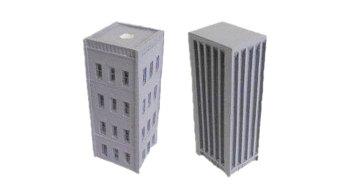 Buildings, City Buildings (2) (9-6195)