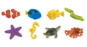 Coral Reef Animal Pack (9-7040)