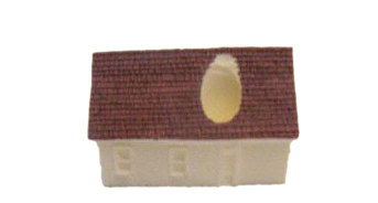 Building, 2-Story House w/Hole (9-7002)