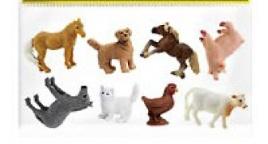Domestic / Ranch Animals (9-7033)