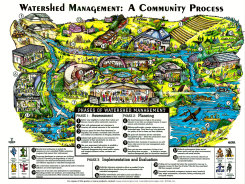 POSTER (PDF): Watershed Management: A Community Process