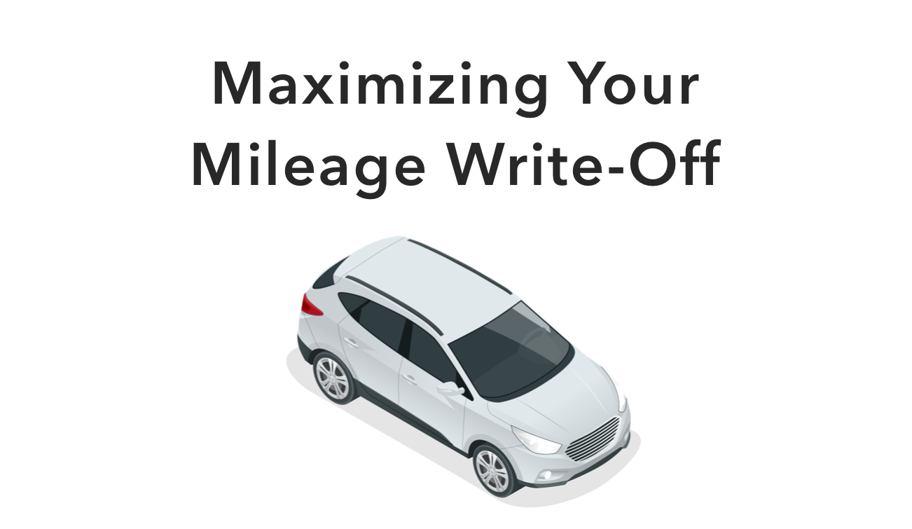 Maximizing your mileage write-off