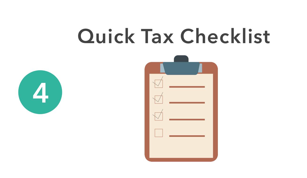 Taxes Checklist
