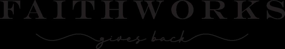 Faithworks Gives Back logo